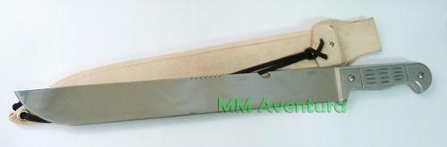 Facão Cimo Aço Inox Faconete c/ Bainha 1140/16