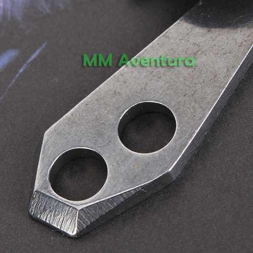 Clip de Cinto EDC c/ Chaveiro Abridor Chave Fenda