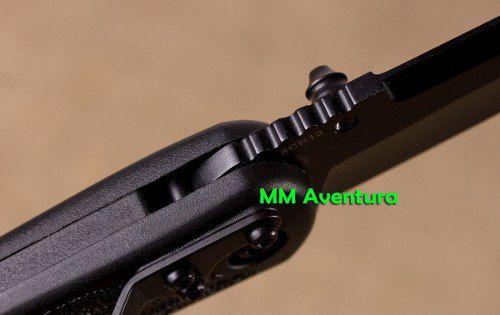 Canivete HK Tático Heckler & Koch Liner Lock Black Preto 14650BT  - MM Aventura