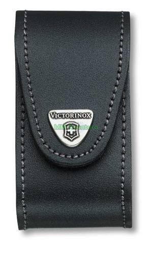 Bainha Victorinox p/ Swisschamp em Couro Legítimo c/ Logo Metálico - 4.0521.31