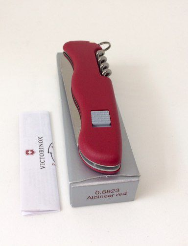 Canivete Victorinox Alpineer Vermelho 111mm 5 Funções 0.8823