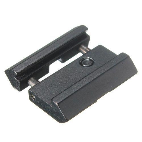 Adaptador Suporte Picatinny p/ Luneta Adpta Trilhos de 11mm p/ 20mm- 2pç  - MM Aventura