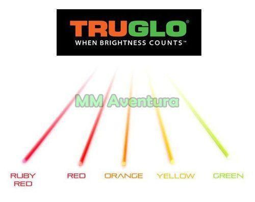 Fibra Ótica Truglo Kit Reposição Alça Massa Mira Óptica TG05C 1.5mm