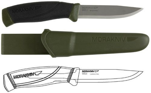 Faca Mora of Sweden Morakniv Companion Mg Aço Inox FT860M