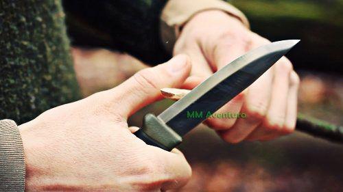 Faca Mora of Sweden Morakinv Heavy Duty MG Lâmina - Espessura 3,2m