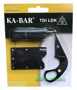 Faca Ka-bar TDI LDK Last Ditch Knife Neck Boot Knife p/ Pescoço Bota 1478BP