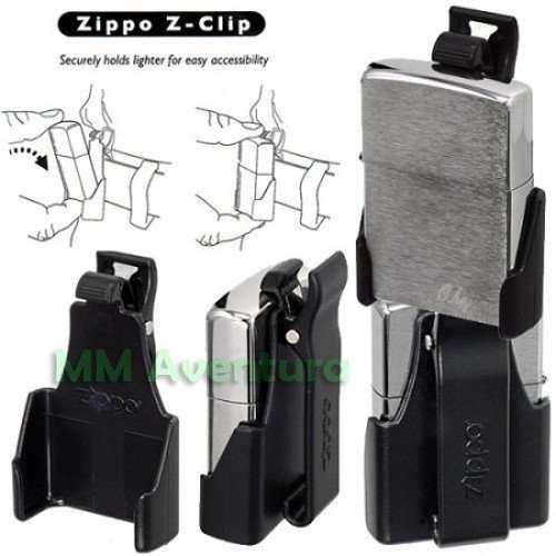 Clip de Cinto para Isqueiro Zippo Tradicional Z-Clip Case  - MM Aventura