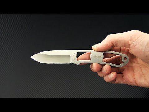 Faca Ka-bar Dozier Knives Skeleton Neck Knife 4073BP