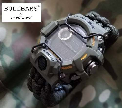 Protetor Metálico Bullbar p/ Relógio Casio G-Shock GW 9400 Rangeman