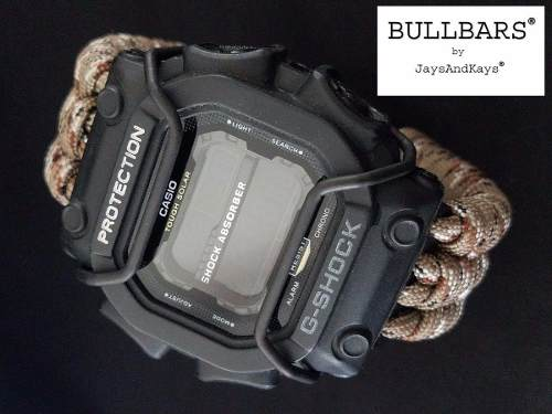 Protetor Metálico Bullbar p/ Relógio Casio G-Shock GX-56 e GX-56 King