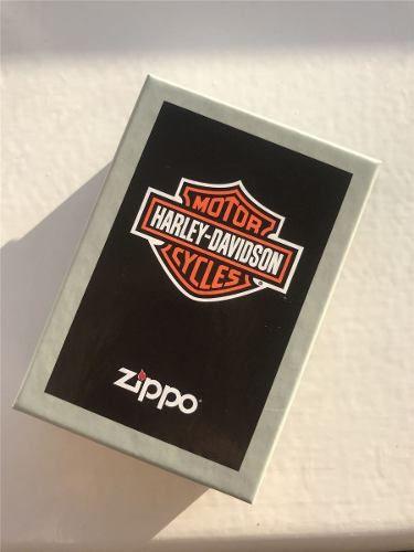 Isqueiro Zippo Original 28982 Harley Davidson Cruz Crucifixo