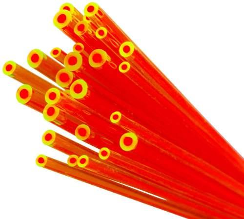 Fibra Ótica Truglo Dual Reposição Alça Massa Mira Óptica Tg05ed 2.0mm