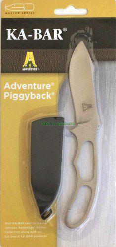 Faca Piggyback Ka-bar Johnson Adventure 5599BP