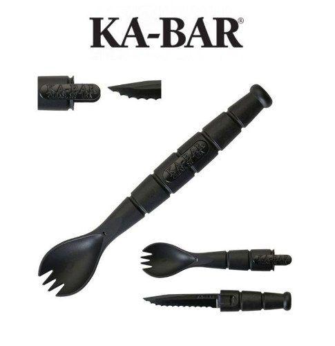 Spork Ka-bar Talher Camping Colher Garfo Faca