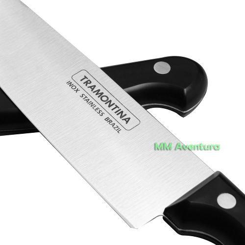 "Faca Chef 8"" Inox Tramontina Linha Ultracorte 24011/108"