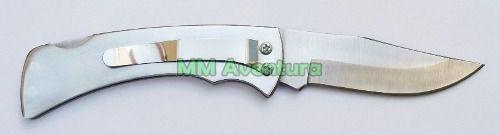 Canivete Zebu Barretos 301 TR Aço Inox c/ Clip