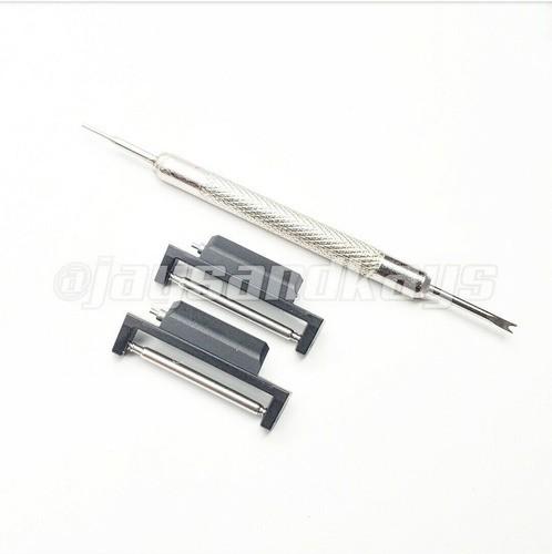Adaptador Metálico de Pulseiras 22mm JaysAndKays p/ Casio G-Shock GA-2100 GA-2110