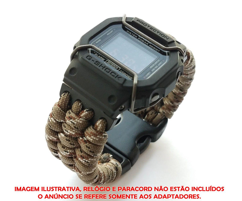 Adaptador JaysAndKays p/ Confecção de Pulseira em Paracord G-Shock