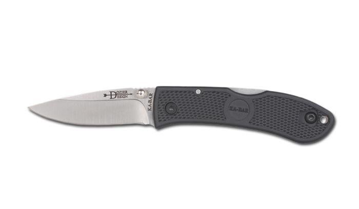Canivete Ka-bar Dozier Small Folder 02-4072 c/ Argola de Chaveiro