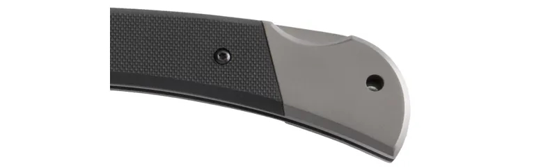 Canivete Ka-bar Folding Hunter 3189 cabo G-10 Lâmina Clip Point Bowie