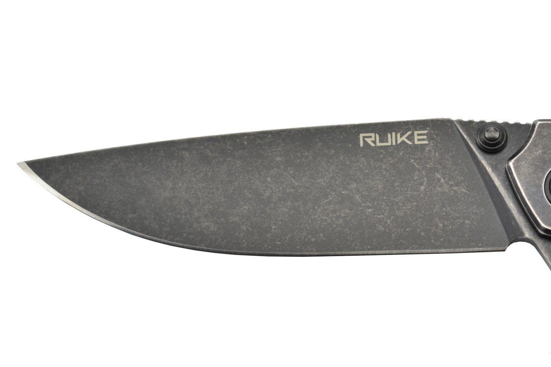 Canivete Ruike P801-SB Preto Black Stonewash c/ Clip EDC