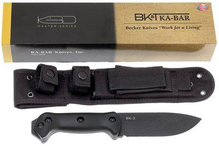 Faca Ka-bar BK22 Becker Campanion (BK2 c/ Bainha Molle)