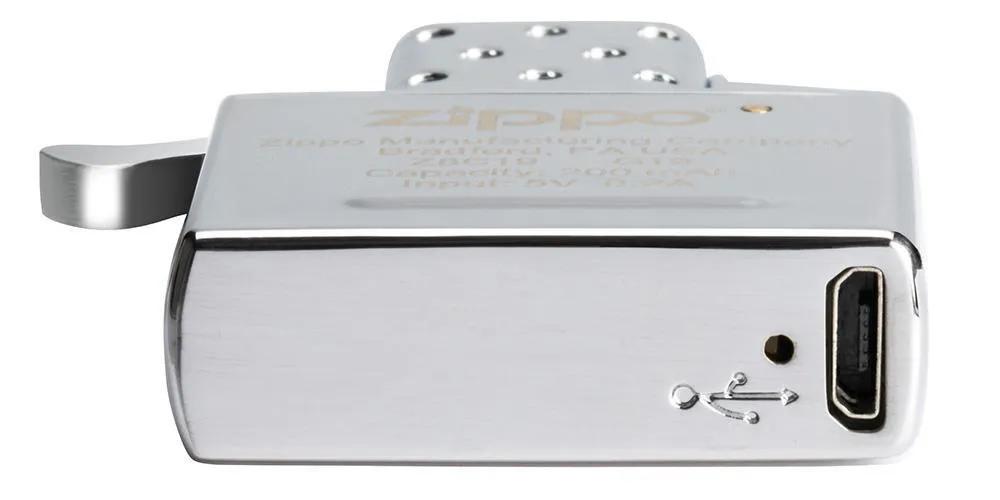 Isqueiro de Plasma Máquina Zippo USB Recarregável Arc Lighter Insert 65828