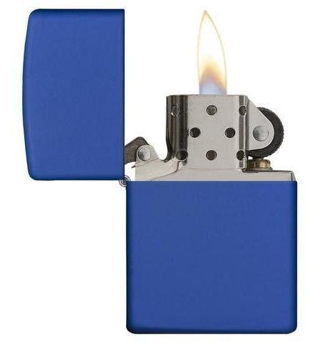 Isqueiro Zippo Azul Regular Royal Blue 229