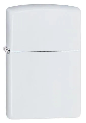 Isqueiro Zippo Branco Regular White Matte 214