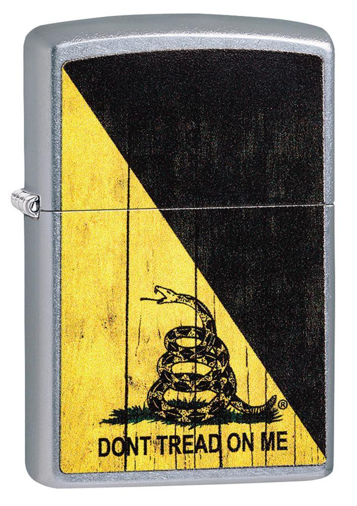 Isqueiro Zippo Don't Tread On Me Cobra Amarelo e Preto 29842