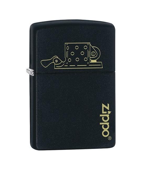 Isqueiro Zippo Insert Design 49218 Preto e Dourado