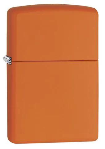 Isqueiro Zippo Laranja Regular Orange Matte 231