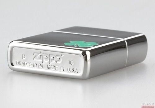 Isqueiro Zippo Original 24007 Trevo Quatro Folhas 4 Lacrado