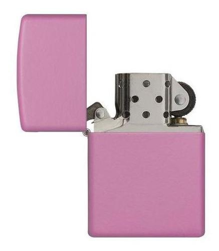 Isqueiro Zippo Rosa Regular Pink Matte 238