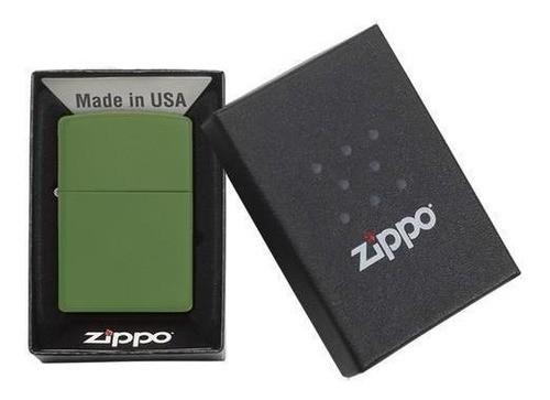 Isqueiro Zippo Verde Regular Moss Green MT LTR 228