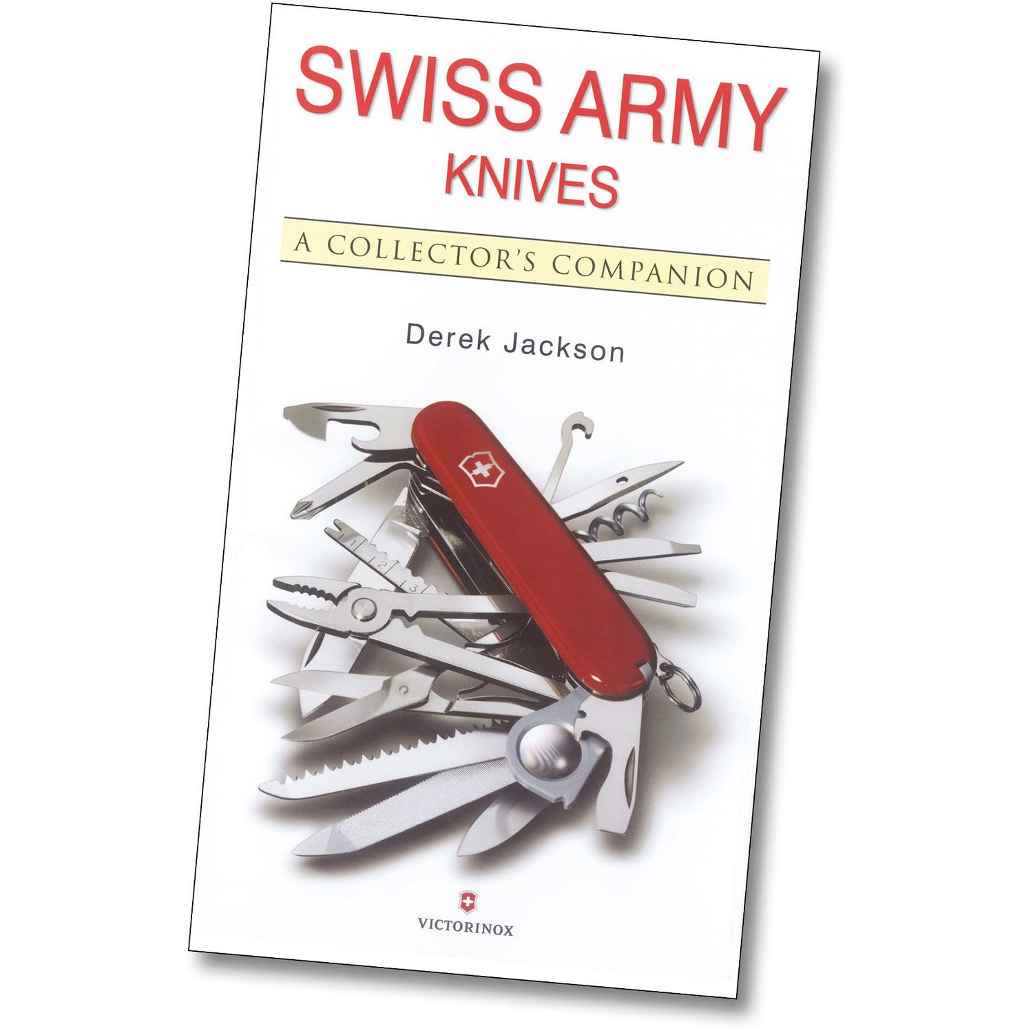 "Livro da Victorinox do Autor Derek Jackson ""Swiss Army Knives: A Collector's Companion"""