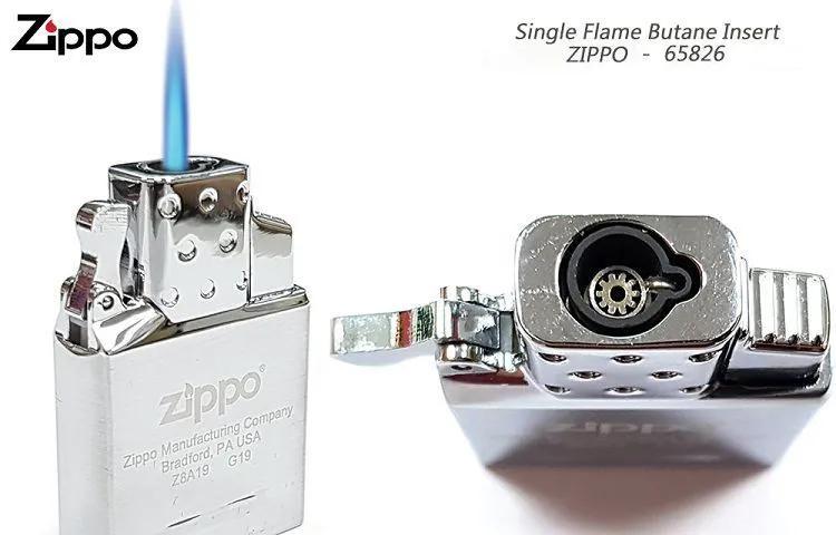 Máquina Gás Butano p/ Isqueiro Zippo Chama Simples 65826