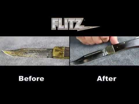 Pasta de Polir FLITZ Polish Cera Bisnaga 50 gr Blister Polimento Limpa e Protege Fibra de Vidro Metal Plástico e Pintura Etc