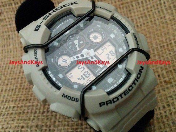 Protetor Metálico Bullbar JaysAndKays p/ Relógio G-Shock GA100 GD120 GA120 etc