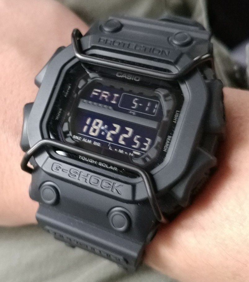 Protetor Metálico Bullbar JaysAndKays p/ Relógio G-Shock GX56 e GX56 King