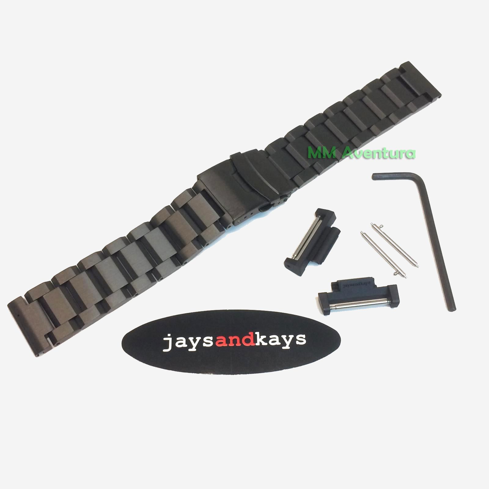 Pulseira em Aço Inox JaysAndKays p/ G-Shock Mudmaster GG1000 GSG100 GWG100