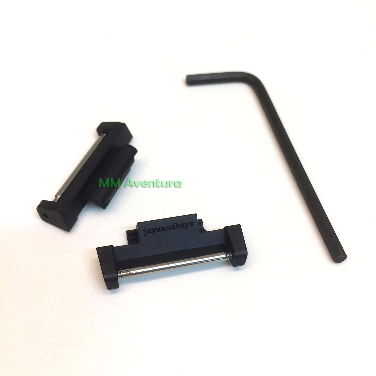 Pulseira Nylon 2pç 22mm Nato Zulu JaysAndKays p/ G-Shock GG1000 GSG100 GWG100