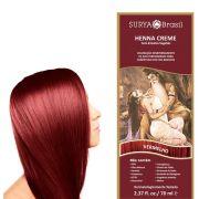 Henna Creme - Vermelho - Surya Brasil