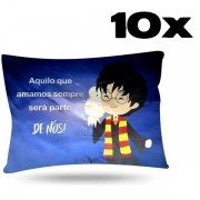 Kit com 10 Fronhas de Cetim - Harry Potter