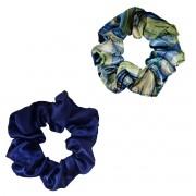 Kit Xuxinhas - Abstrata B e Azul Escuro - Anti Frizz