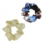 Kit Xuxinhas - Floral Azul II e Creme - Anti Frizz