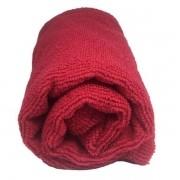 Toalha de Microfibra - Tamanho P - Vermelho