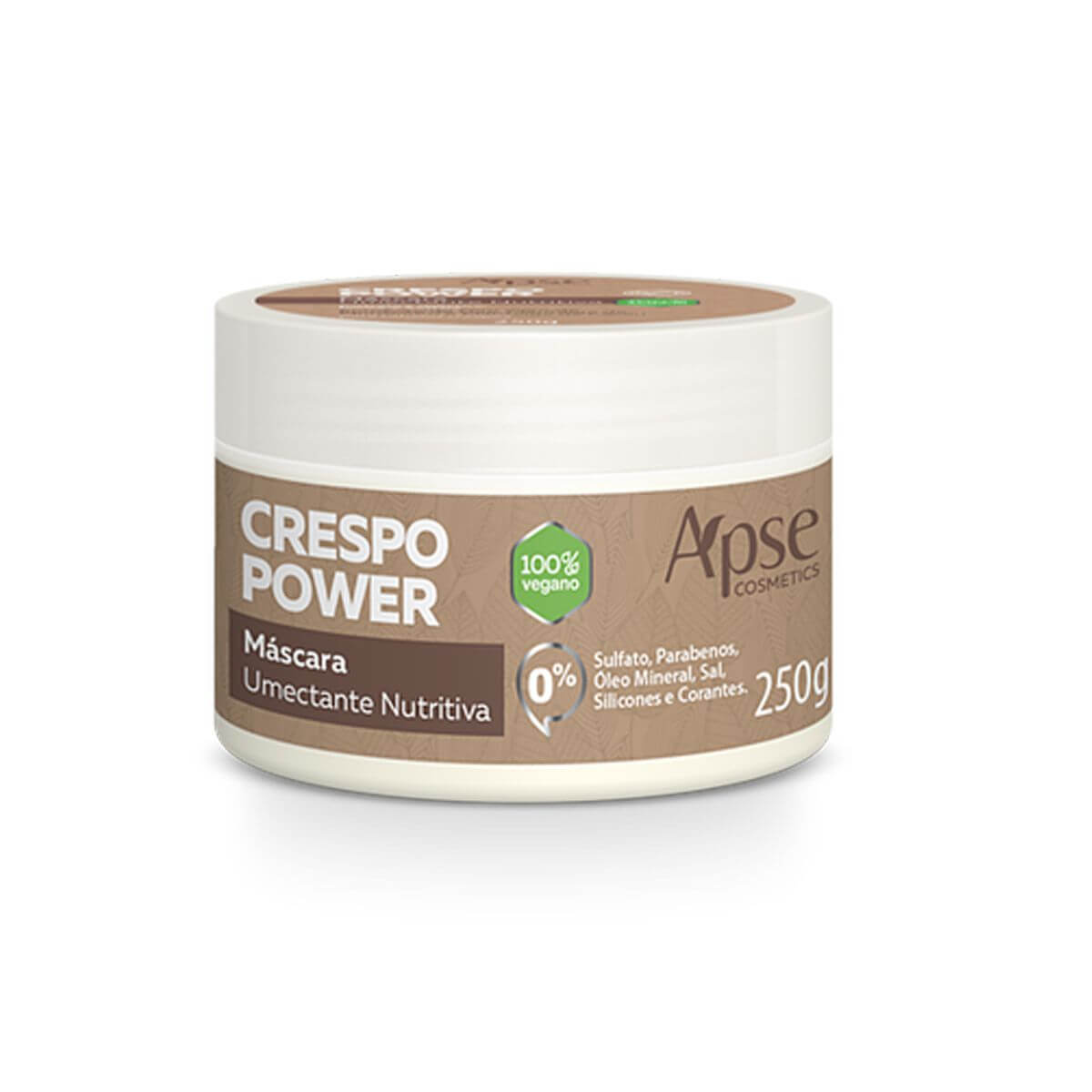 Apse - Máscara Crespo Power - 250g