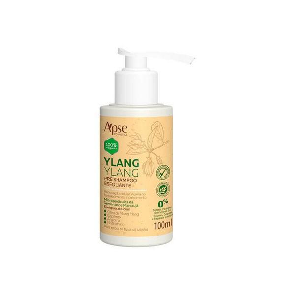 Apse - Pré Shampoo Esfoliante - Ylang Ylang - 100ml