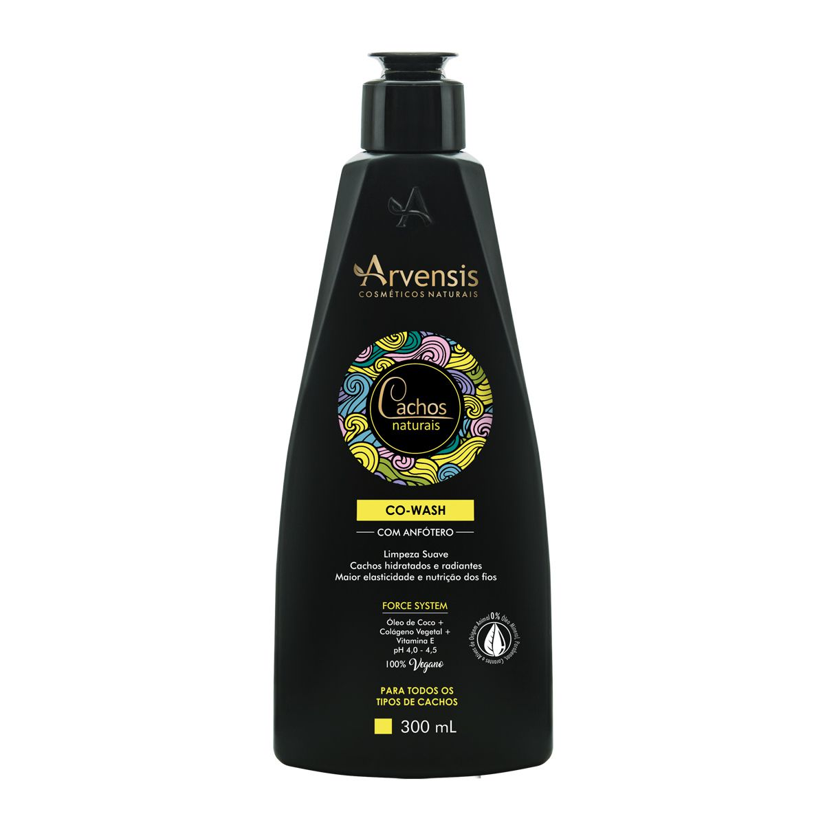 Co-Wash - Cachos Naturais - Arvensis - 300ml